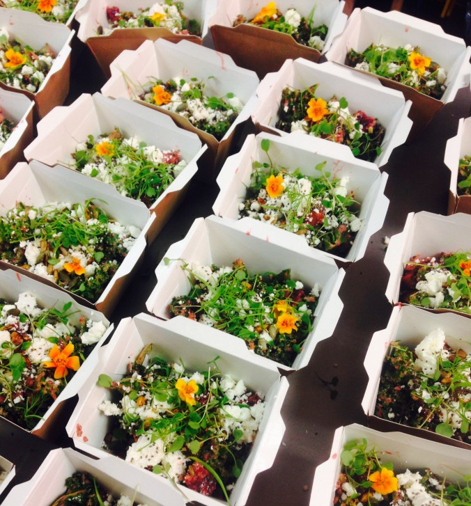 Salads to go Created @ Peardrop London