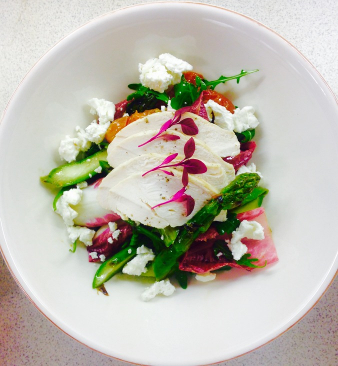 Chicken Salad created @ Peardrop London