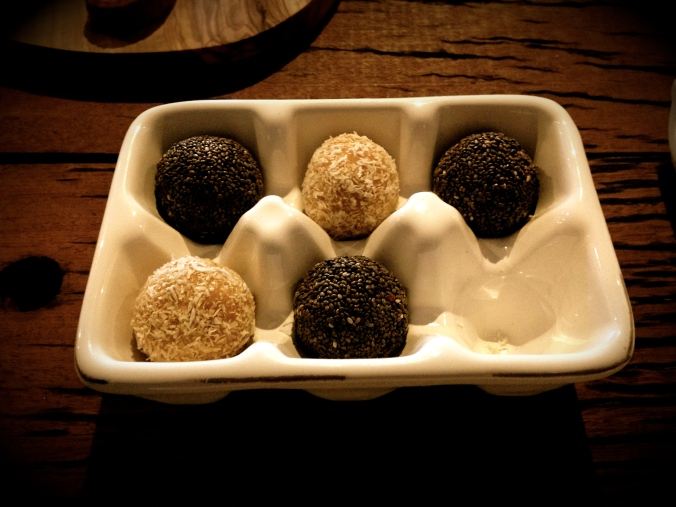 Raw Truffle Balls Created @ Peardrop London