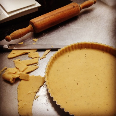 Parmesan and Thyme Shortcrust Pastry